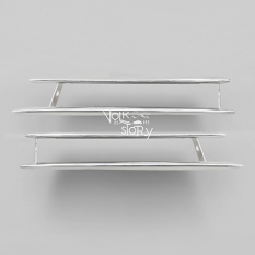 KARMANN GHIA 56-59 NOSE FRONT GRILL | CHROME | PAIR