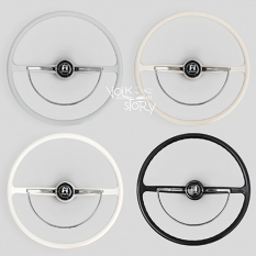 STEERING WHEEL 400 MM  W/ HORN BUTTON AND HORN RING