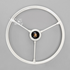 3 SPOKE STEERING WHEEL WITH HORN BUTTON
